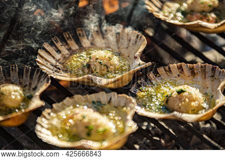 Scallops On The Grill 2