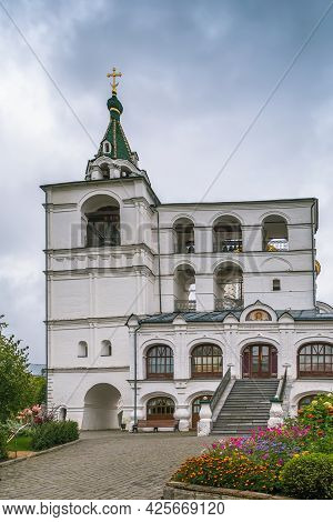Belfry In Ipatiev Monastery, Kostroma In Russia