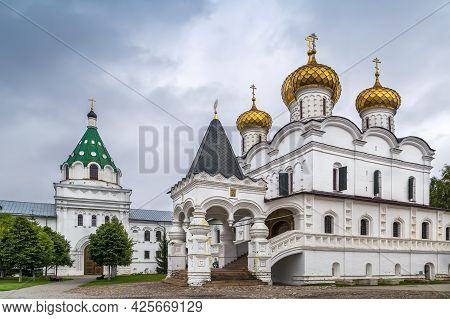 Trinity Cathedral In Ipatiev Monastery In Kostroma, Russia
