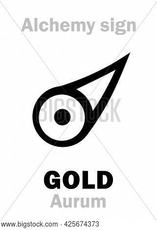 Alchemy Alphabet: Gold (aurum, Sol) -- Metal Of The Sun, Precious/noble Metal, Ultimate Goal Of Sear
