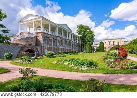 Cameron Gallery And Freilinsky Garden In Catherine Park, Tsarskoe Selo (pushkin), Saint Petersburg,