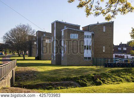 Low Cost Blocks Of Flats In Cambridgeshire.