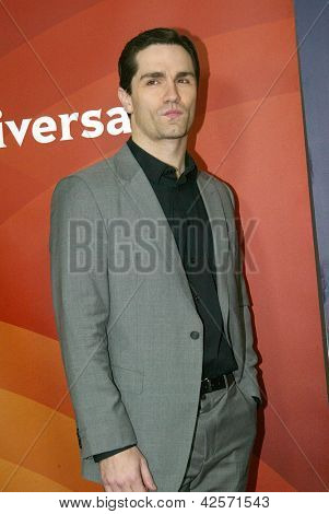 PASADENA, CA - JAN. 7: Sam Witwer arrives at the NBCUniversal 2013 Winter Press Tour at Langham Huntington Hotel & Spa on January 7, 2013 in Pasadena, California