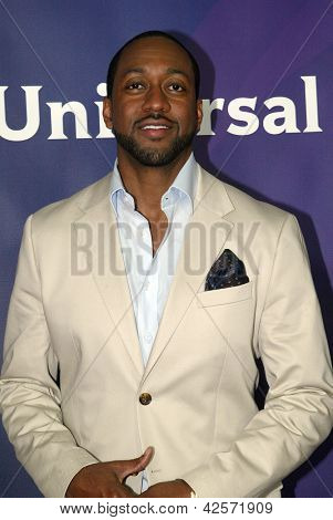 PASADENA, CA - JAN. 7: Jaleel White arrives at the NBCUniversal 2013 Winter Press Tour at Langham Huntington Hotel & Spa on January 7, 2013 in Pasadena, California