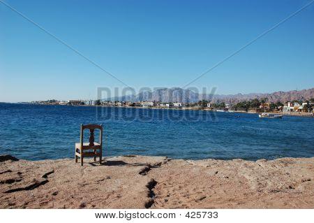 Chair Near Sea