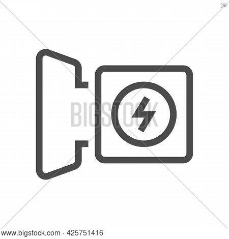Ev Charging Connectors Icon