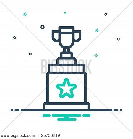 Mix Icon For Winner Award Triumphant Prize Victorious Conquer Vanquish