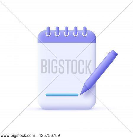 Copywriting, Writing Icon. Creative Writing And Storytelling, Education Concept. Writing Education C