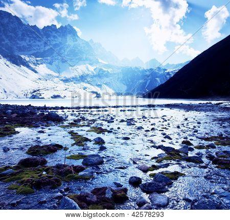Himalayan mountains,Nepal