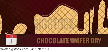 Card For Event July Day Chocolate Wafer Day
