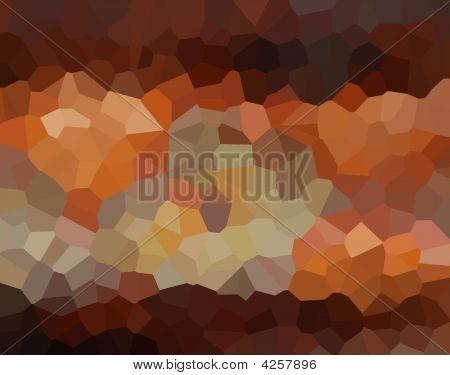 Cristales de cobre