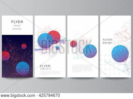 Vector Layout Of Flyer, Banner Templates For Website Design, Vertical Flyer Design, Website Decorati