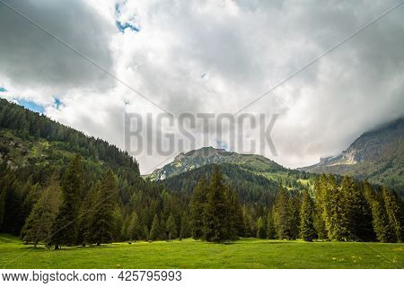 Nature Landscape For Adventure, Hiking And Recreational Tourism