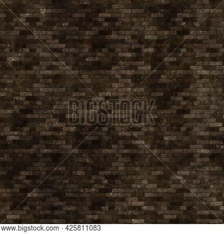 Grunge style brick wall texture background