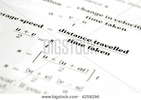 Distance And Time