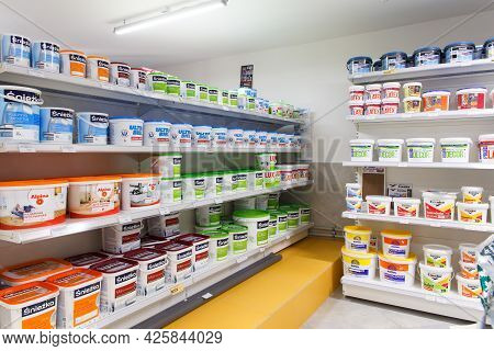 Paint From Various Manufacturers Is Sold