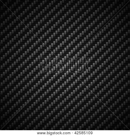 Carbon fiber background - vector illustration