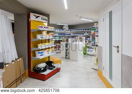 Various Choice Of Hardware Tools, Home And Garden Products, Diy And Building Materials