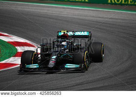 Valtteri Bottas Of Mercedes Amg F1 Team   On Track  During Free Practice Of   Styrian Formula 1 Gran