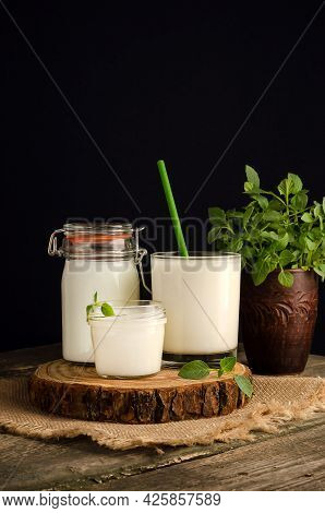 Dairy Starter Culture For The Preparation Of Fermented Milk Products, Yogurt, Kefir, Fermented Baked