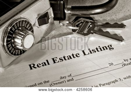Real Estate Listing Contract & Lock Box