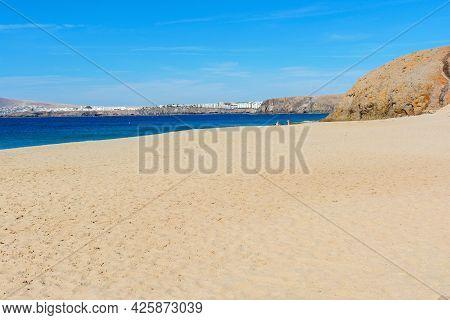 Playa De La Cera, Famous Papagayo Beaches In Lanzarote