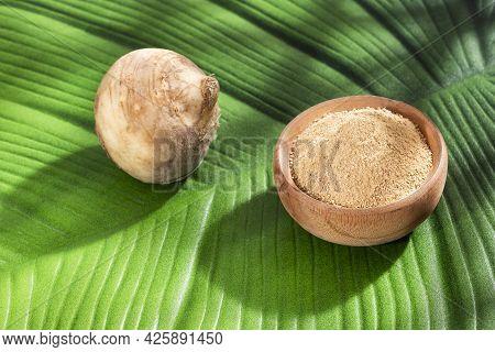 Maca Root Or Peruvian Ginseng - Lepidium Meyenii