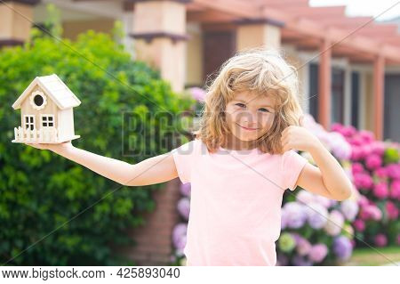 Design Of Your Dream House. Concept Of Housing For Kids.