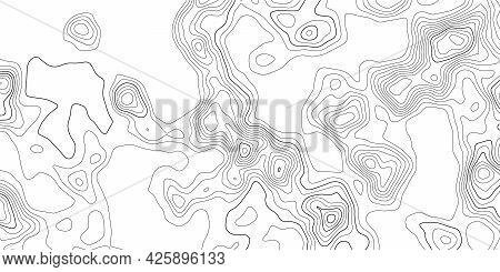 Retro Topographic Map, Great Design For Any Purposes.