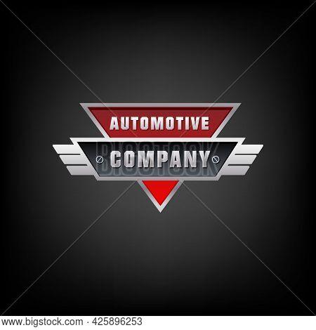 Car, Auto, Automotive Logo Template Vector Illustration. Automotive Car Badge Logo