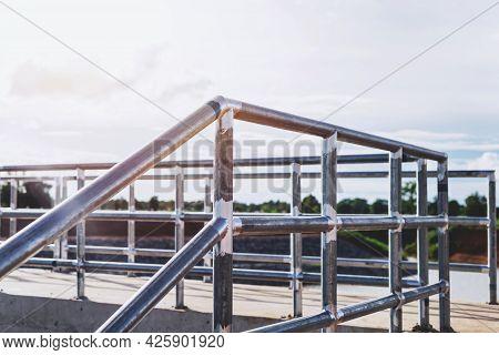 Steel Railing, Balcony Railing, Preventing People From Falling, Reservoir
