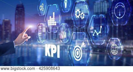 Kpi Key Performance Indicator Business Technology Concept 2021