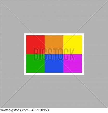 Lgbt Sign Logo. Lgbtq Symbol Vector Illustration