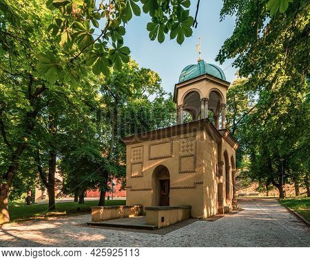 Chapel Of The Holy Sepulchre (in Czech Language: \\\