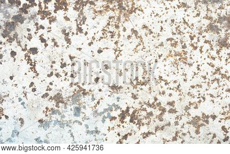 Corroded Metal Background Rusted Grey Painted Metal Wall Rusty Metal Background With Streaks Of Rust