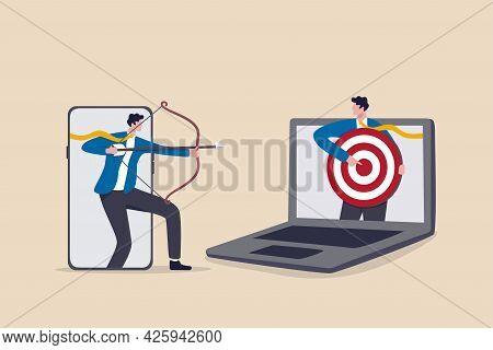 Remarketing Or Behavioral Retargeting In Digital Advertising, Online Ads That Will Follow Target Aud