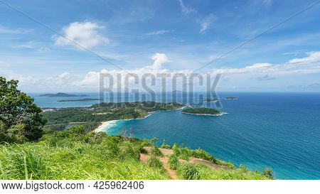 Scenery Landscape View Phahindum View Point Popular Landmark In Phuket Thailand Viewpoint To See Pro