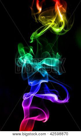 Colored Smoke.
