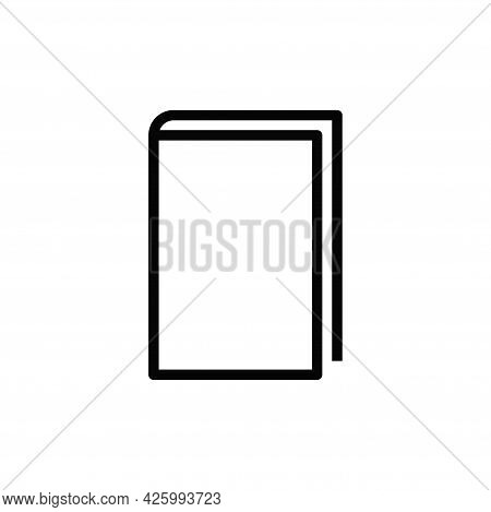 Book Icon Isolated On White Background. Book Icon In Trendy Design Style For Web Site And Mobile App