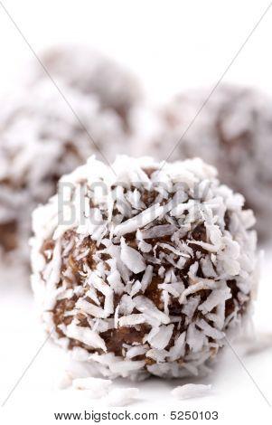 Choklad och kokos boll