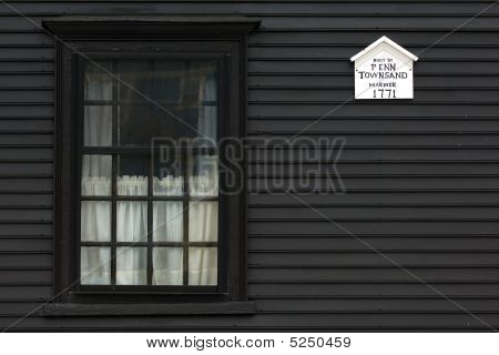 Black House In Salem, Ma