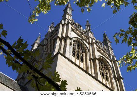 Merton College Chapel. Oxford. England
