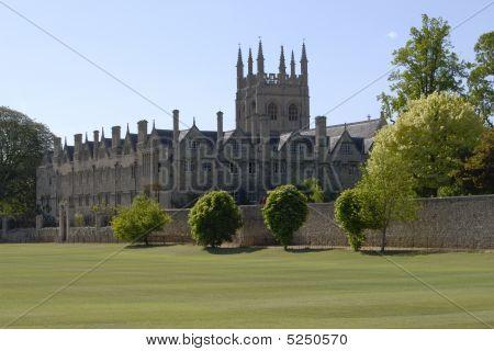Merton College. Oxford. England