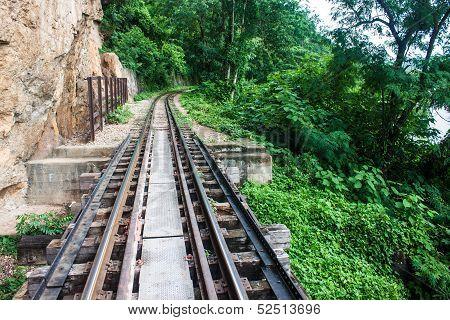 View of Burma railway