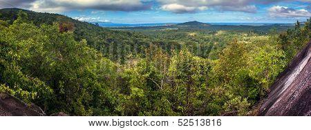 Aerial view on Koh Phangan island