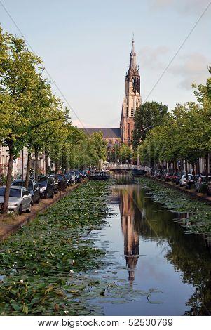 The New Church (Nieuwe Kerk) In Delft, The Netherlands, Europe