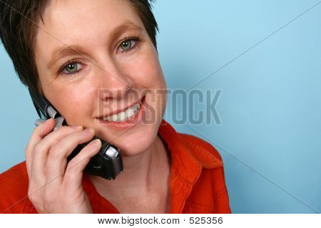 Woman On Phone