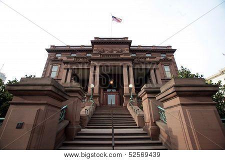 James Clair Flood Mansion, Nob Hill, San Francisco