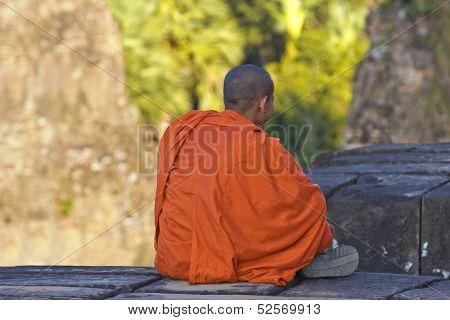 Sitting Monk