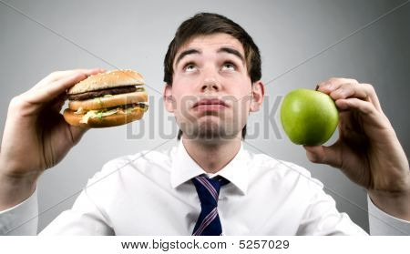 Burger Or Apple